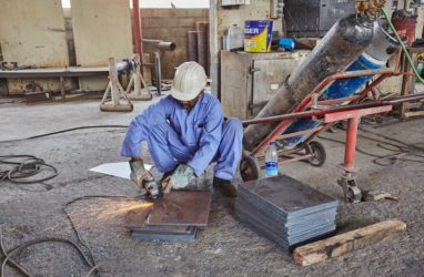 Steel Fabrication Factory Ghala, Oman