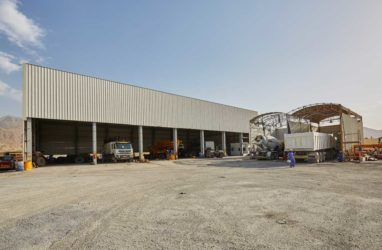 Steel Fabrication Factory Misfah, Oman